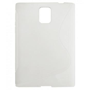 Чехол-крышка для BlackBerry Passport белый волна