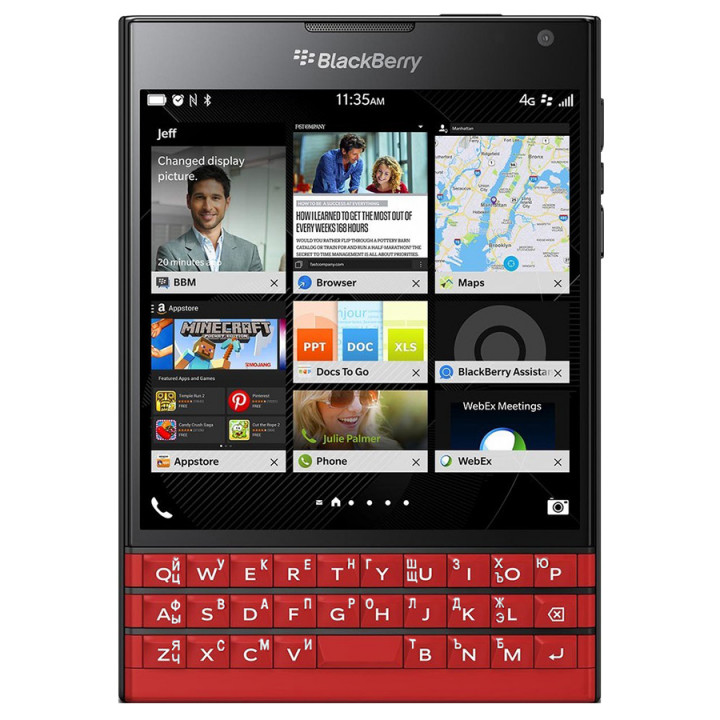 BlackBerry Passport red