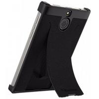 Оригинальный кожаный чехол-крышка для BlackBerry Passport Silver Edition