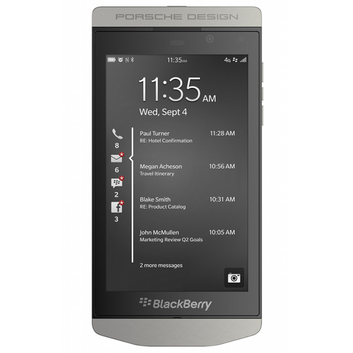 BlackBerry PORSCHE DESIGN 9982 Grey