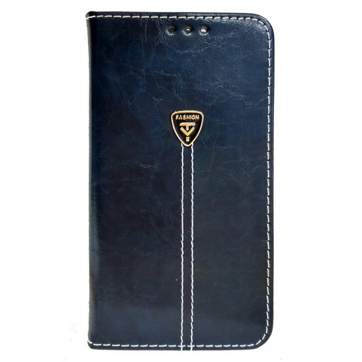 Чехол-книга для BlackBerry PRIV темно-синий