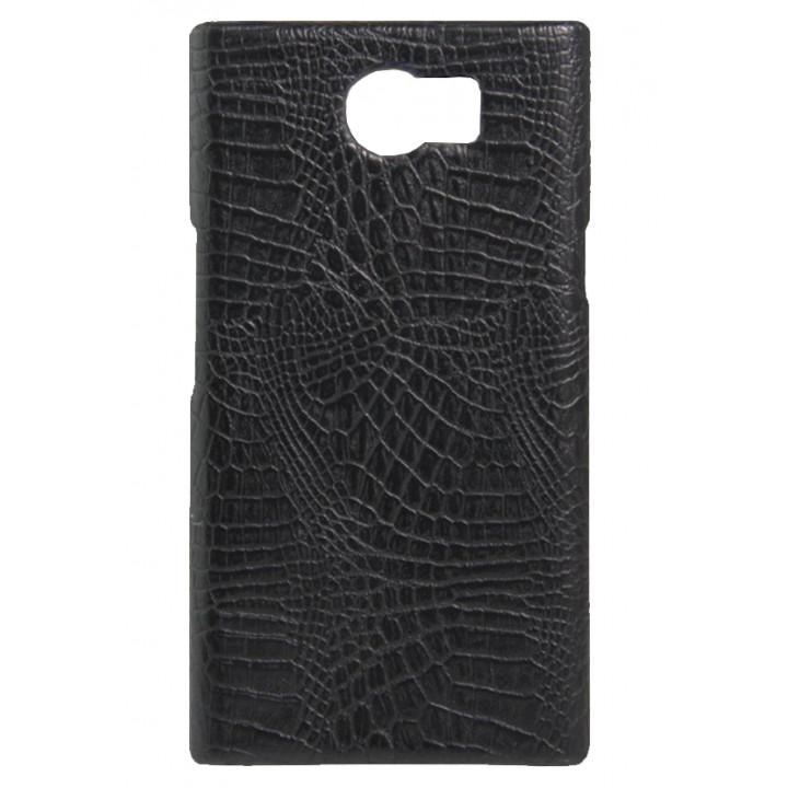 Кожаный чехол-крышка для BlackBerry PRIV черный