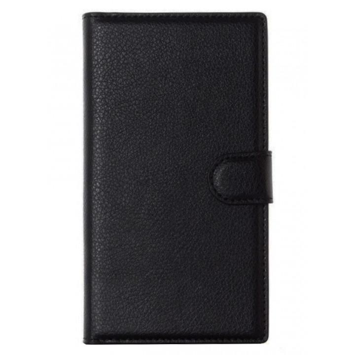 Чехол-портмоне для BlackBerry PRIV черный