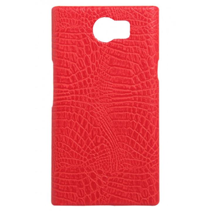 Кожаный чехол-крышка для BlackBerry PRIV красный