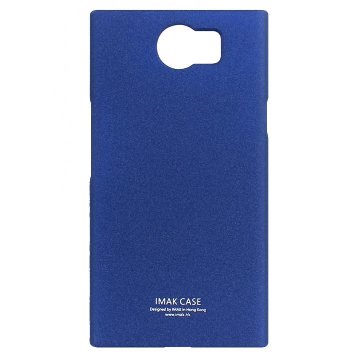 Чехол-крышка для BlackBerry PRIV синий матовый