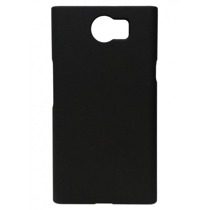 Чехол-крышка для BlackBerry PRIV черный софттач