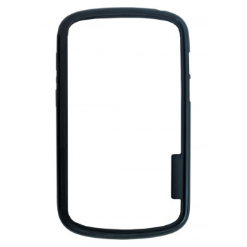 Бампер прозрачно-черный для BlackBerry Q10