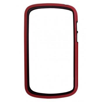 Бампер красно-черный для BlackBerry Q10