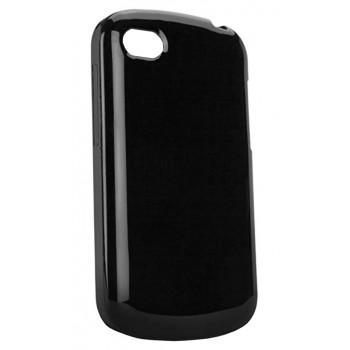 Черный глянцевый чехол-крышка для BlackBerry Q10