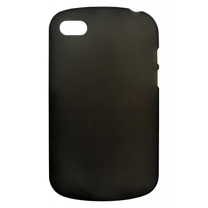 Черный матовый чехол-крышка для BlackBerry Q10