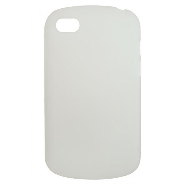 Белый силиконовый чехол-крышка для BlackBerry Q10