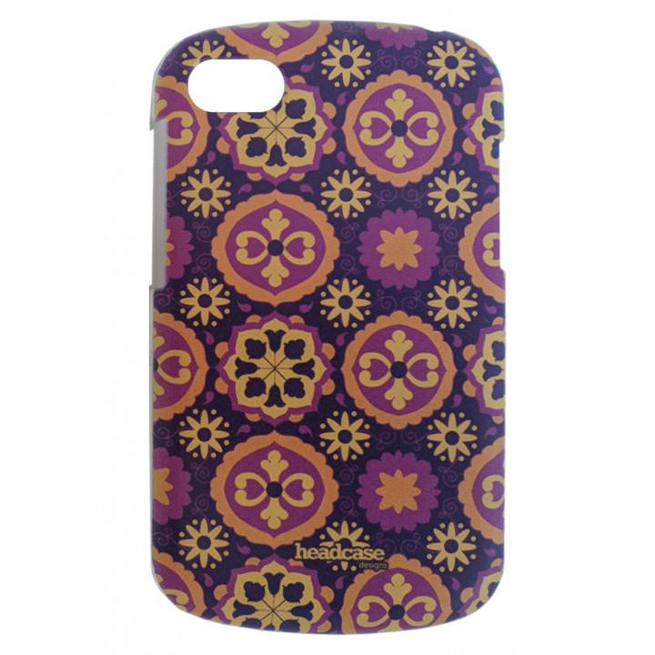 Чехол-крышка BlackBerry Q10 с рисунком, цветы