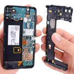 Замена частей корпуса BlackBerry