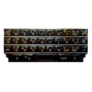 Гравировка кириллицы для BlackBerry KEYone