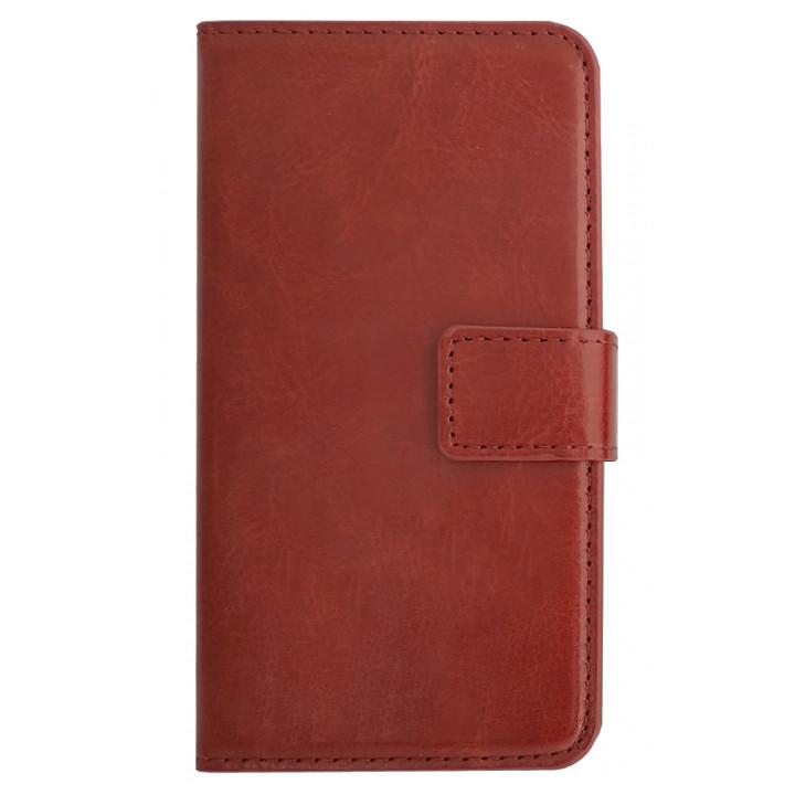 Чехол-книга для BlackBerry Z10 коричневый