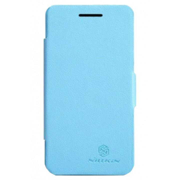 Чехол-книга для BlackBerry Z10 голубой