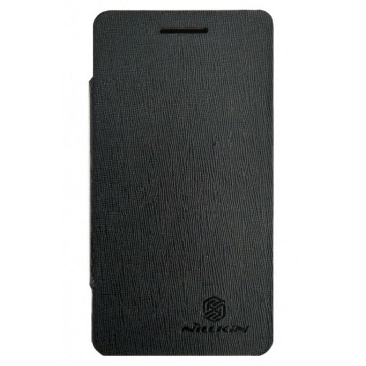 Чехол-книга для BlackBerry Z10 темно-коричневый