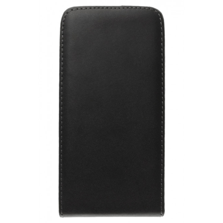 Кожаный чехол-флип для BlackBerry Z10 черный