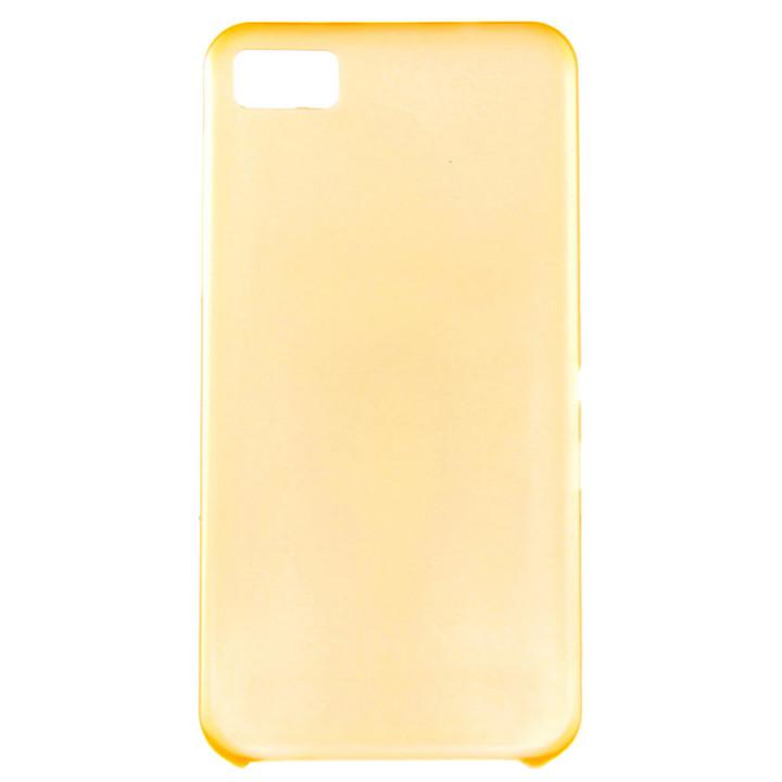 Чехол-крышка для BlackBerry Z10 силиконовый оранжевый