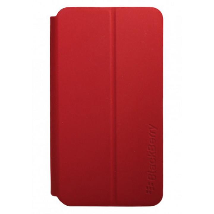Красный чехол-книга для BlackBerry Z10