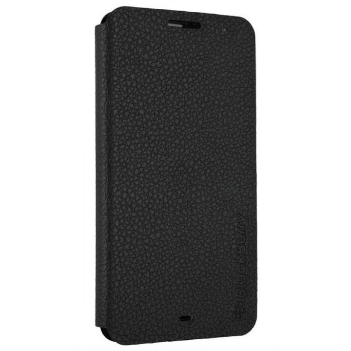 Оригинальный черный чехол-книга для BlackBerry Z30