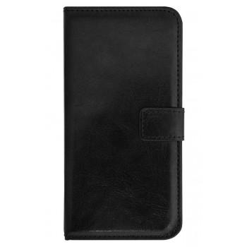 Чехол-портмоне черный для BlackBerry Z30