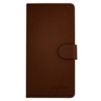 Чехол-книга для BlackBerry Z30 коричневый