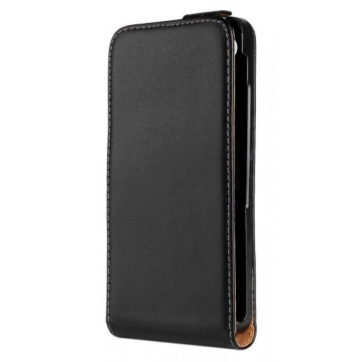 Чехол-флип кожаный для BlackBerry Z30 черный