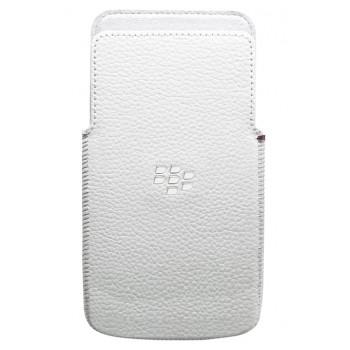 Оригинальный белый чехол-карман для BlackBerry Z30