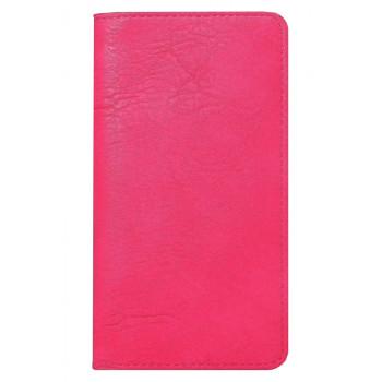 Кожаный чехол-книга для BlackBerry Z30 розовый