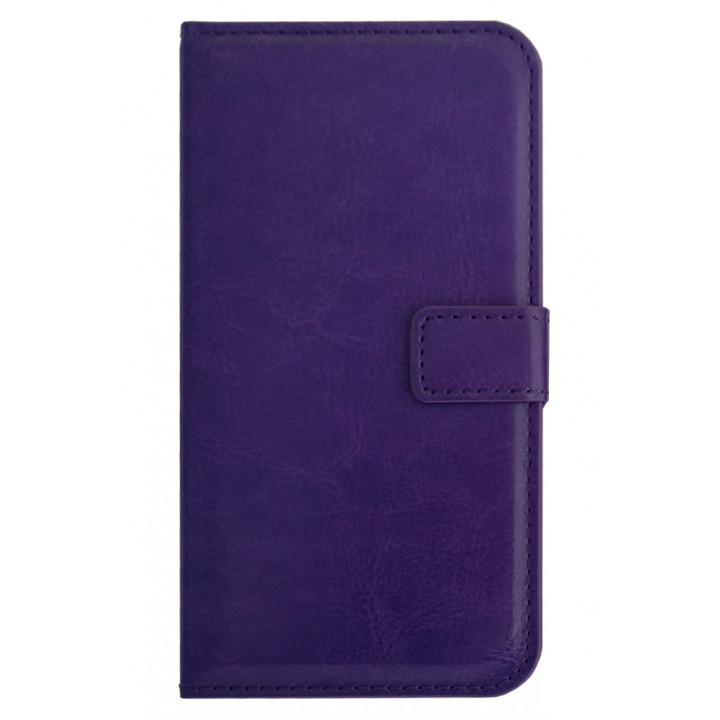 Чехол-портмоне фиолетовый для BlackBerry Z30