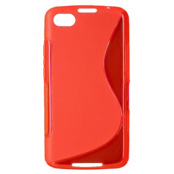 Чехол-крышка для BlackBerry Z30 красный