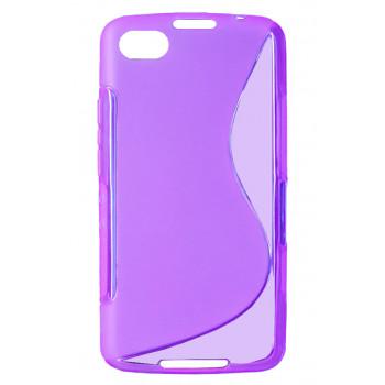 Чехол-крышка для BlackBerry Z30 фиолетовый