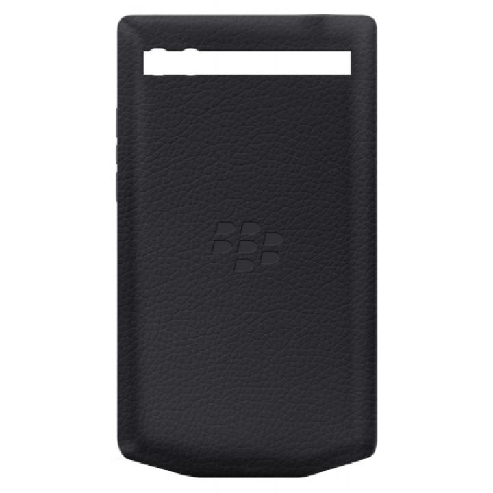 Задняя крышка для BlackBerry PORSCHE DESIGN 9983 черная кожа